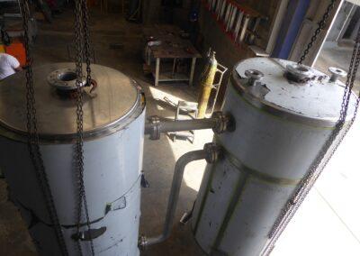 Fabricación de tanques, JAMSMSRL